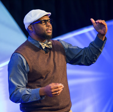 "Andre Daughty believes that ""If you observe children, they will teach you how to teach them."" He differentiated curriculum through rap, music, art, poetry & projects based on his students' interests watching them soar to new heights."
